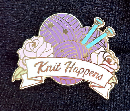 Knit Happens Badge