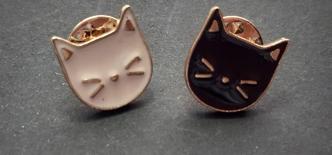 Tiny Cat Pins