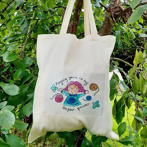 Buying Yarn Canvas Bag
