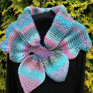 isla Neck Warmer digital download knitting pattern