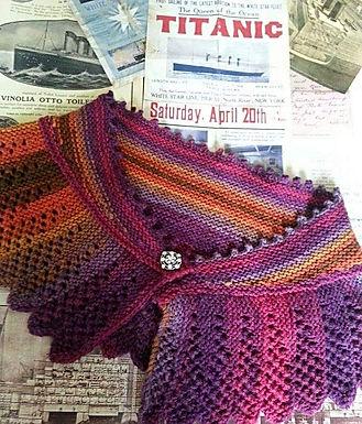 Titanic Shawl Knitting Kit