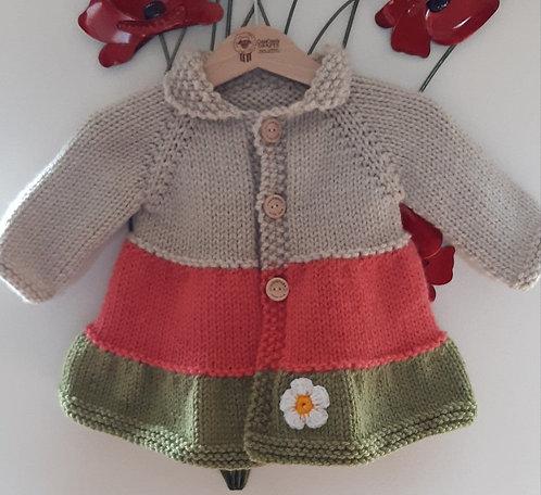 Baby Girl Coat 3 - 6mths