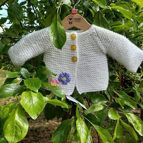 Baby Girl's Cardigan 0 - 3 months