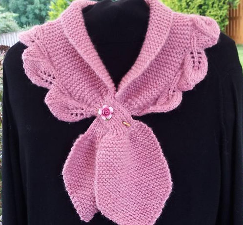 Colette Scarf Knitting Kit (colour as photo)