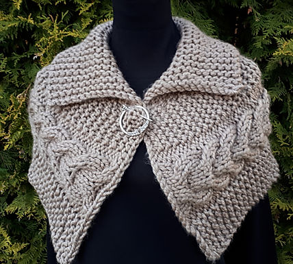 Donna Wrap ( digital knitting pattern)