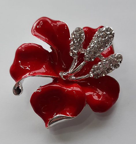 Stunning Flower Brooch