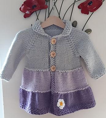 Baby Girls Coat 12 - 18 mths