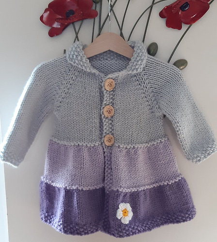 Baby Girls Coat 12 - 18 mths