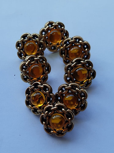 Amber-Style Stone Buttons