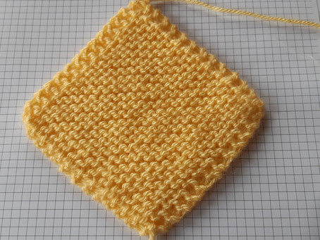Carona Blanket first square