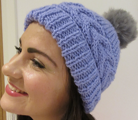 Clare Bun, Ponytail and Bobble Hat ( digital pattern)