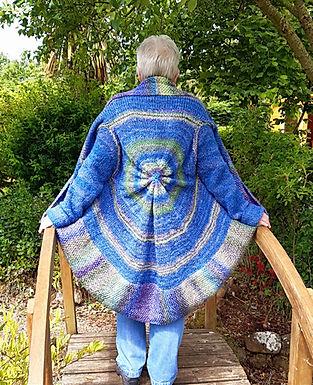 Circular Cardigan (fits size 12 - 16)