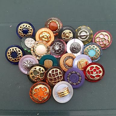 22 Vintage Buttons