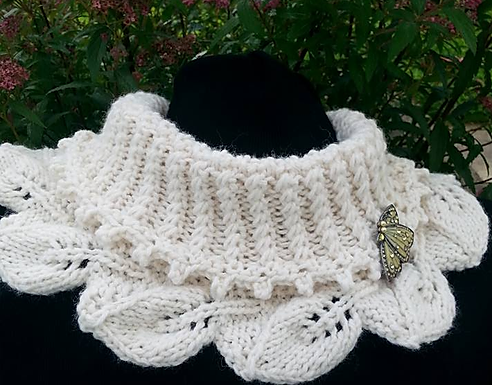 Emily Cowl digital download knitting pattern