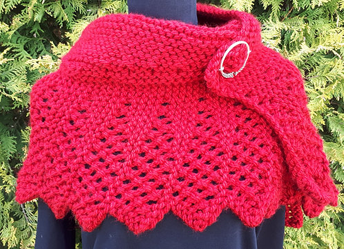 Brienne Shawl ( digital knitting pattern)