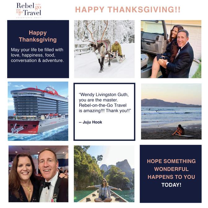 Snapshots from Wendy's November Adventures.