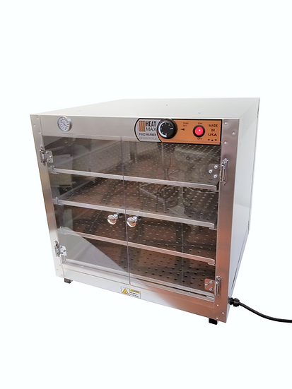 HeatMax 242424 Food Warmer Hot Box with Acrylic Doors