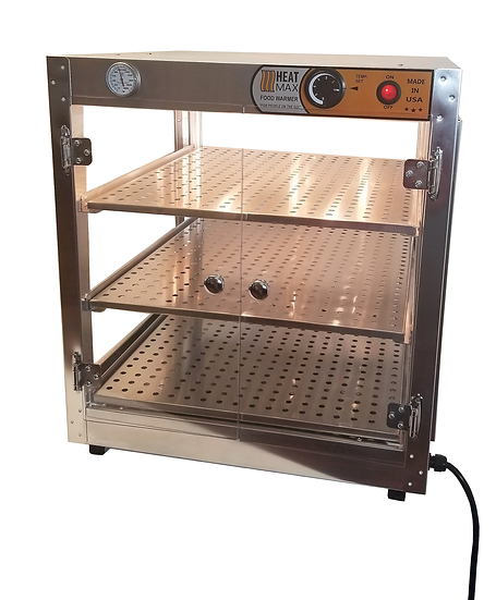 HeatMax 202024 Food & Pizza Warmer Display