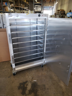 Pizza Warmer Cabinet for 36 pizza boxes