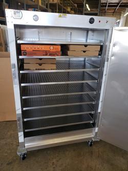 custom 38x21x61 warmer cabinet for 32 pi