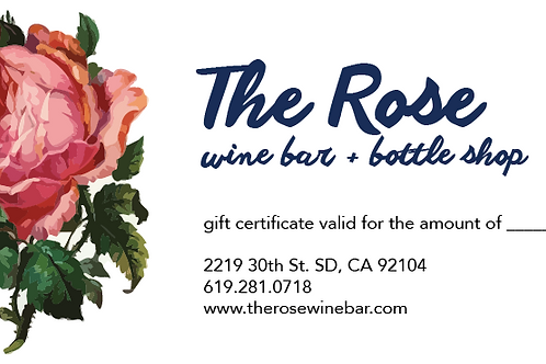 Give The Gift of The Rose