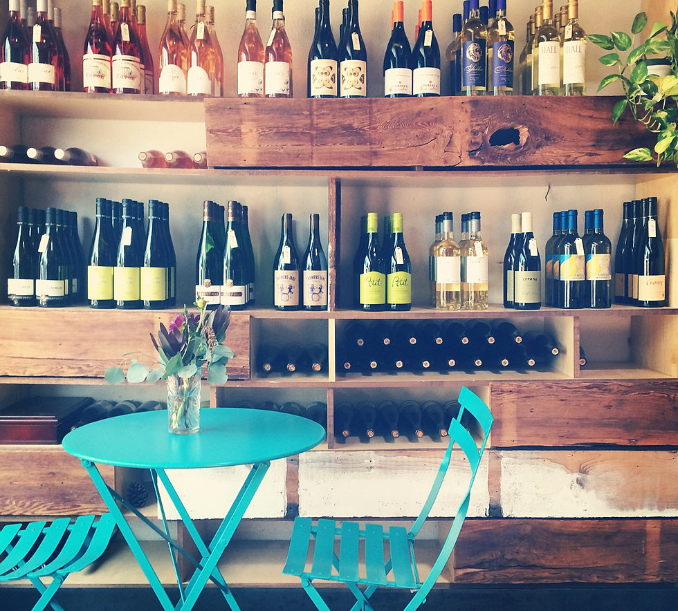 Natural wine bar san diego california the rose for Basement bar san diego
