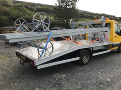 chassis for client pickup