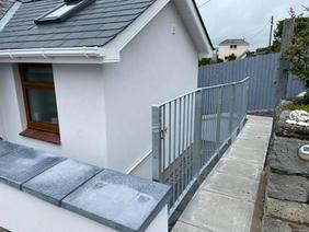 STF galvanised railings