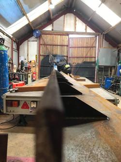 STF workshop welding