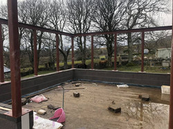 STF sun room extension steels