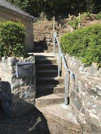STF galvanised handrail