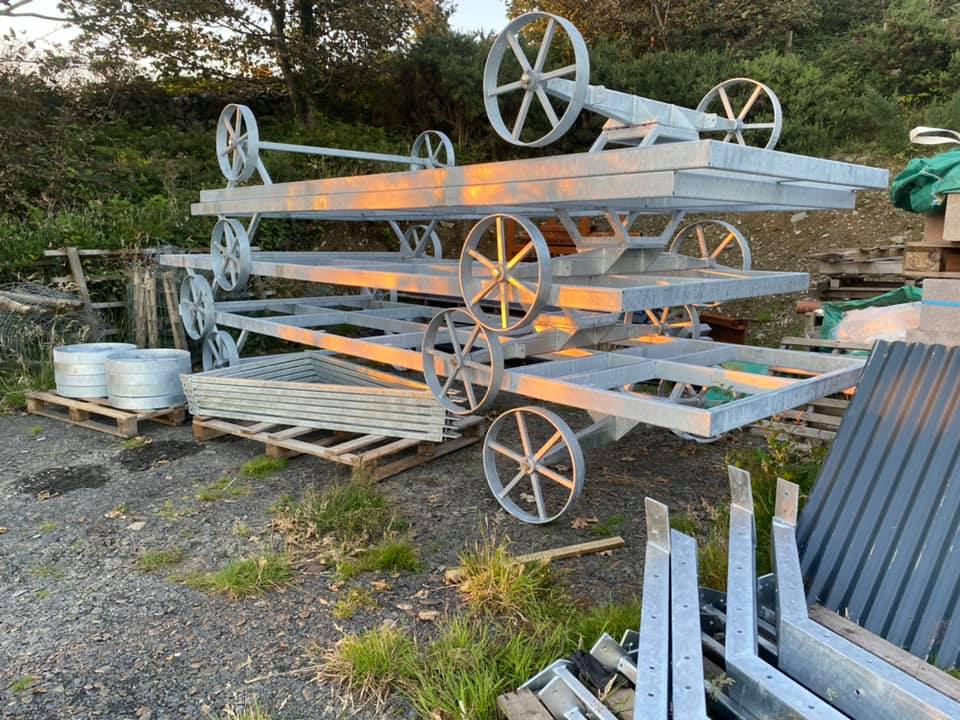 STF galvanised chassis