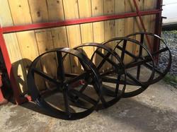 STF black painted wheels