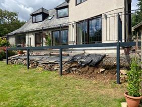 STF powder coated balcony and railings