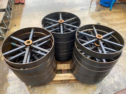 STF chassis wheels