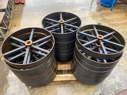 STF Shepherd Hut Wheels (Set of 4)