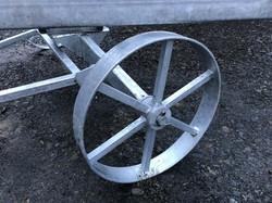STF galvanised wheel