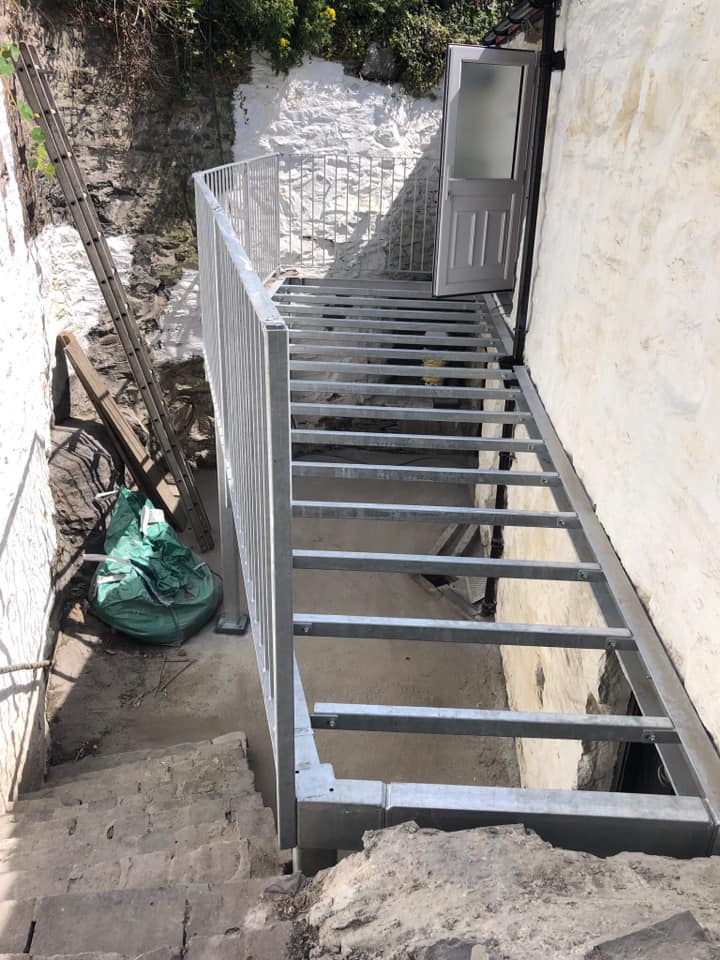 STF galvanised balcony