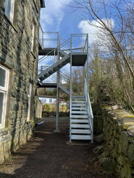 STF external staircase structural