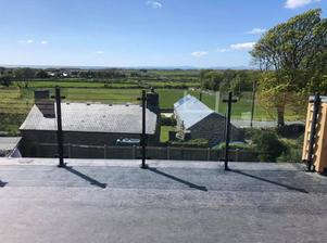 STF glass balustrade