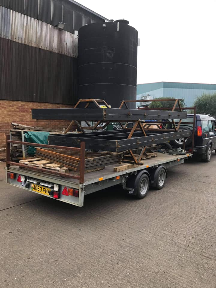 STF chassis to galvanising