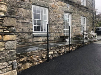 STF estate style railings