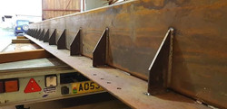 STF large box section for extension project