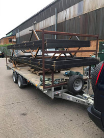 STF chassis heading to the galvanisers
