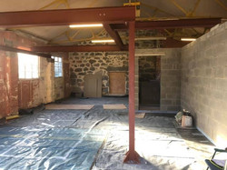 STF structural steel for a property renovation