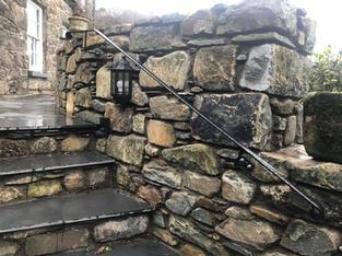 STF handrail powder coated black