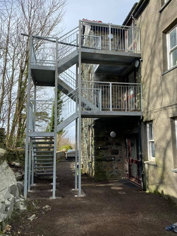STF external staircase