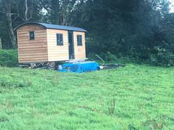 STF shepherds hut build