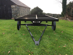 STF 16ft black painted chassis