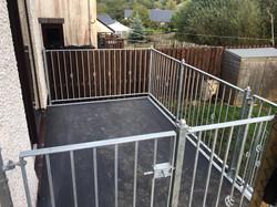 STF balcony railings